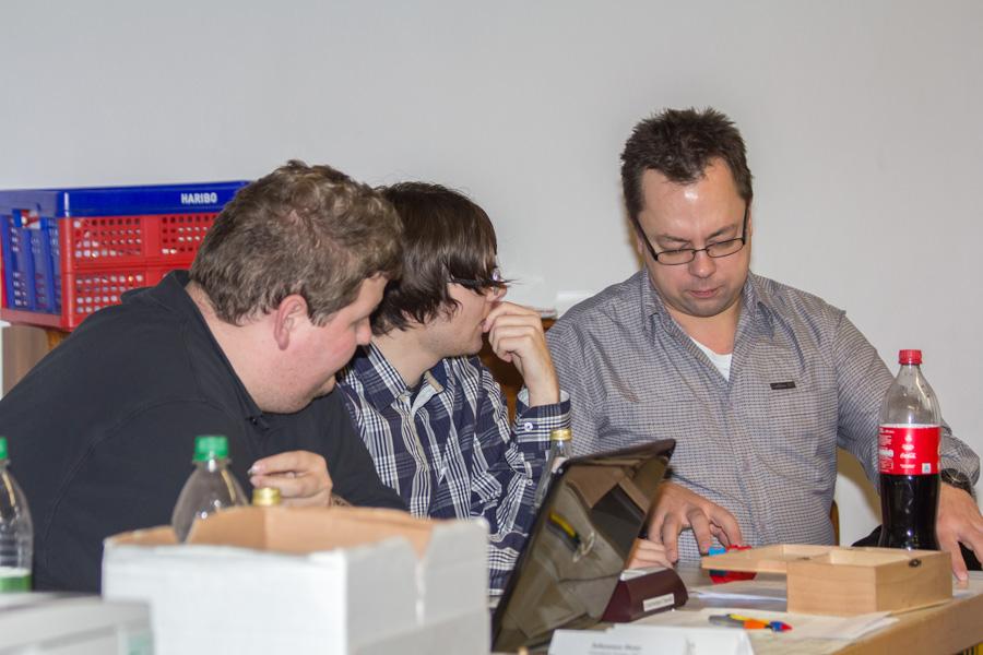 Simon, Ralf und Stephan