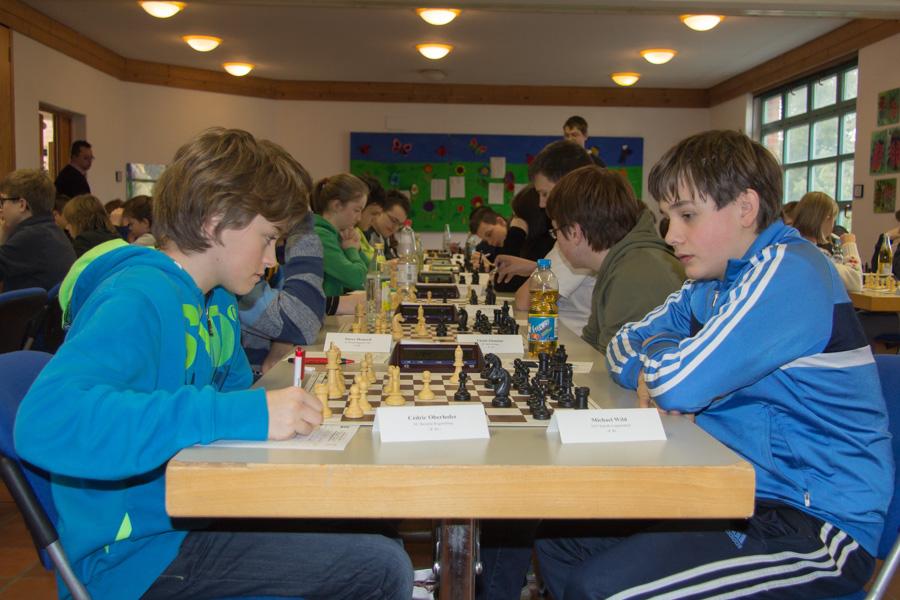 U16: Cedric gegen Michael