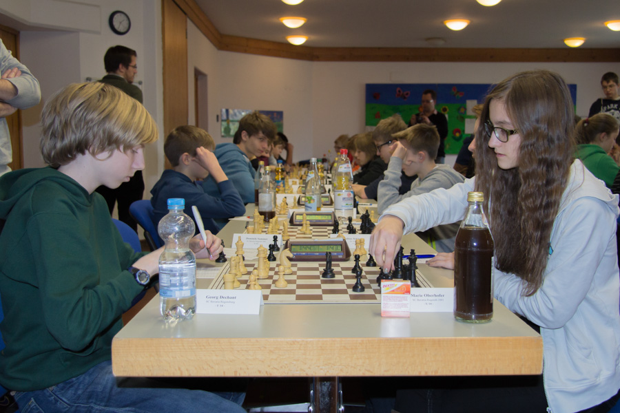 U14: Georg gegen Marie
