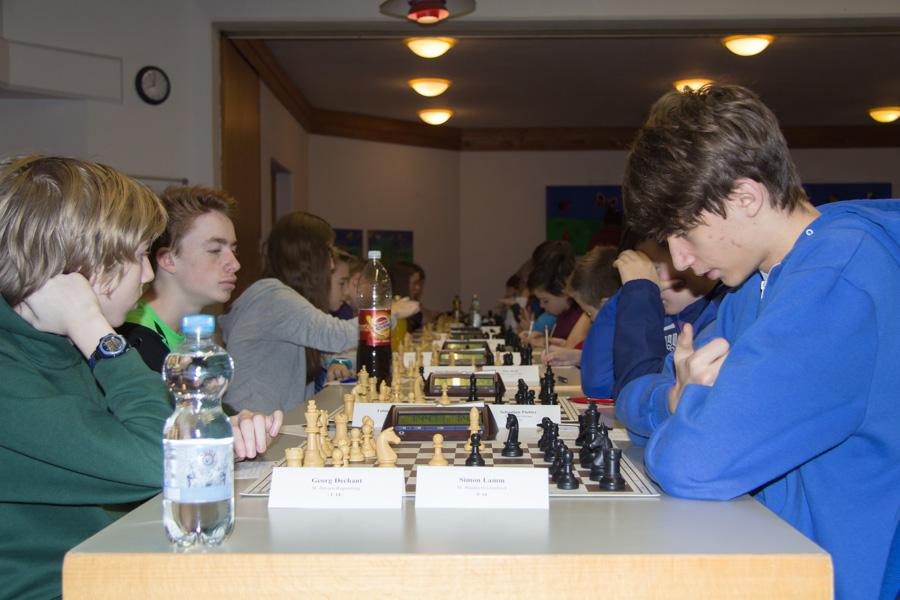 4. Runde U14: Georg gegen Simon