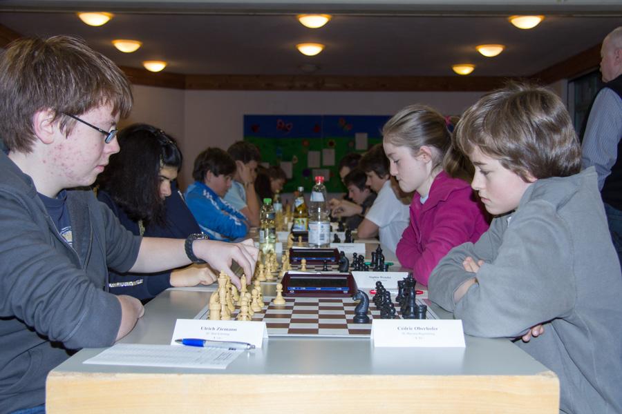 4. Runde U16: Ulrich gegen Cedric