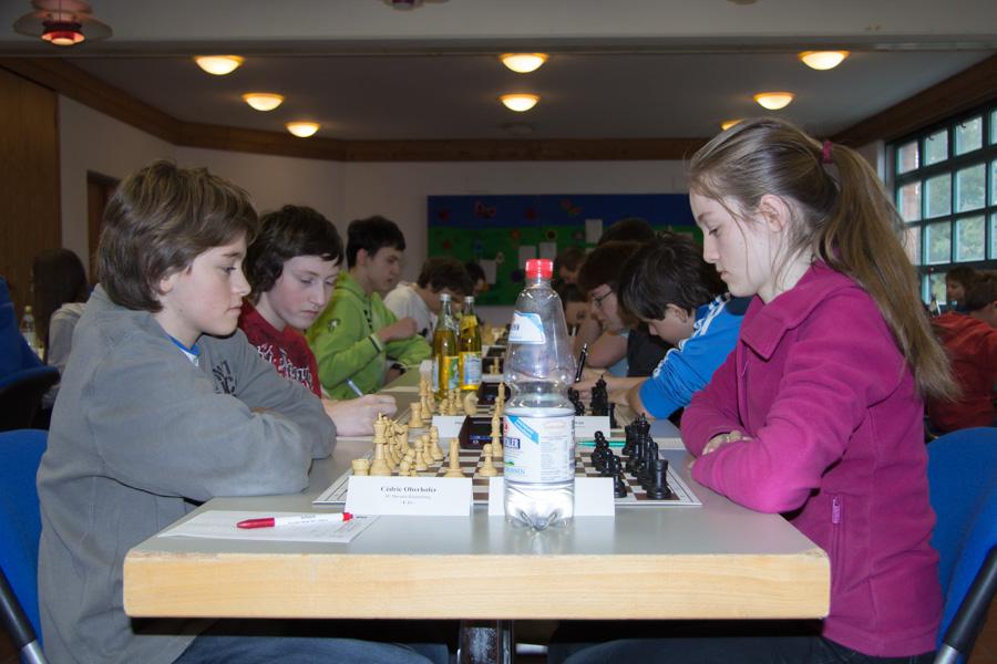 5. Runde U16: Cedric gegen Sophia