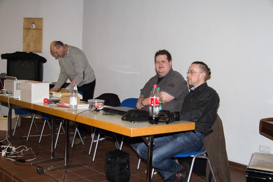 Josef, Simon und Roman