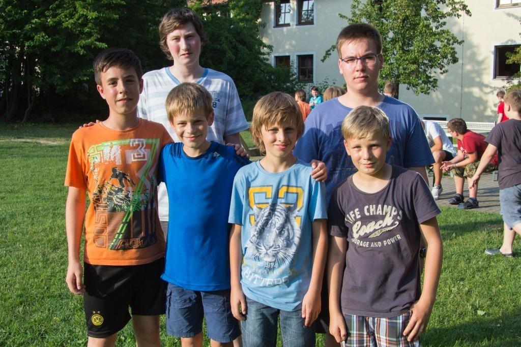 Destroyer von links: Simon Mayer, Philipp Kammer ©, Moritz Hauer, Jan Gabler, Cornelius Mühlich, Korbinian Kolbinger
