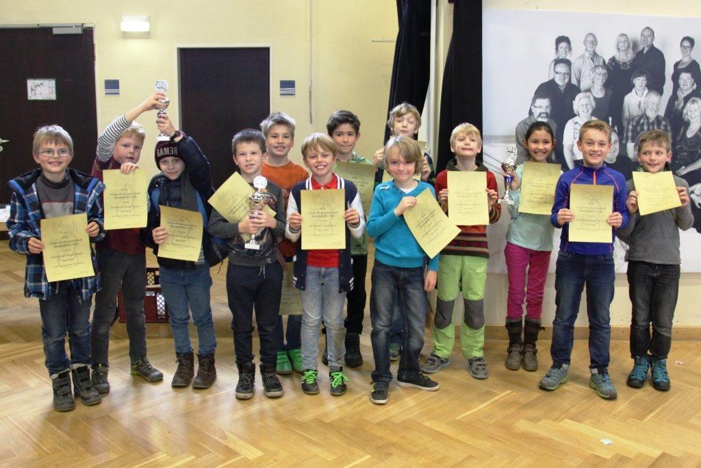 Sieger WK Grundschule